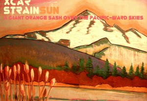Boxcar Strainsun A Giant Orange Sash